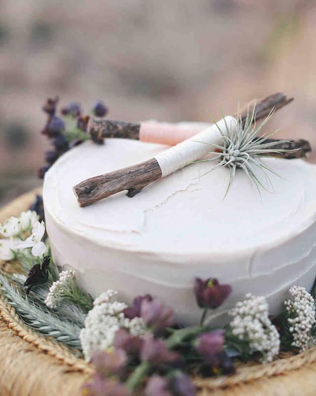 Bánh cưới 1 tầng