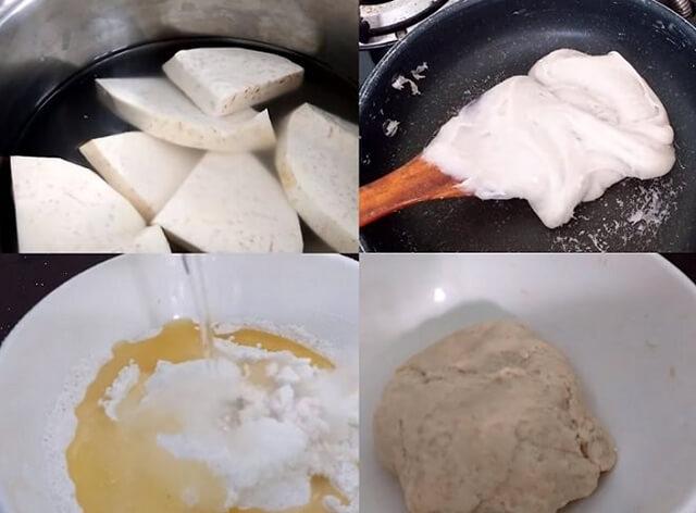 bánh pía nhân khoai môn