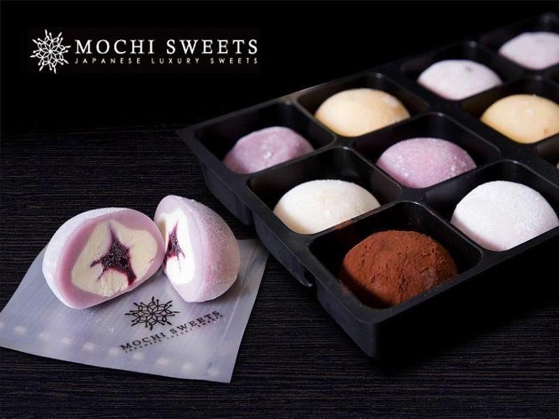 Bánh trung thu mochi kem lạnh đẹp không nỡ ăn