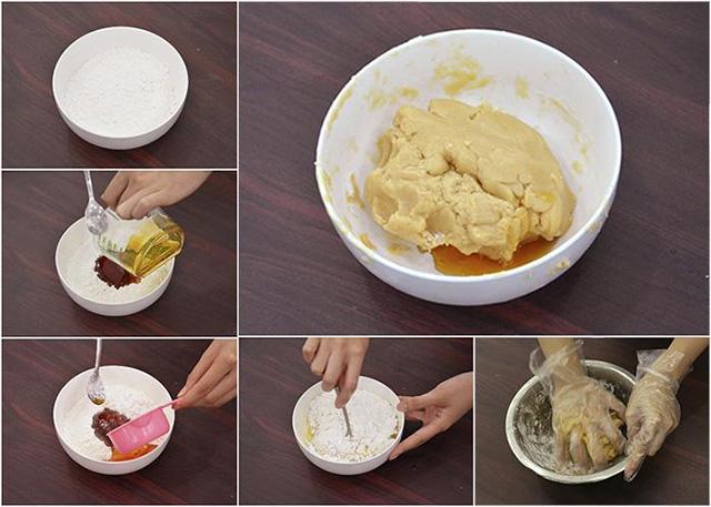 Cách làm bánh trung thu chay nhân đậu xanh