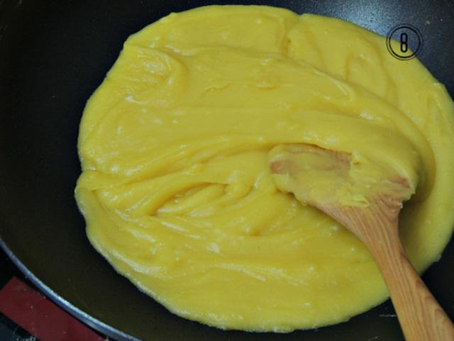 cách sên nhân đậu xanh làm bánh trung thu