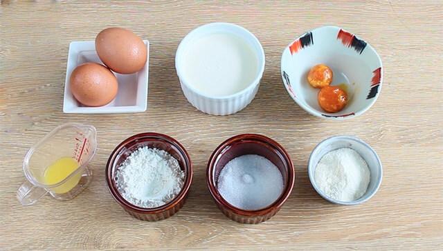 Cách làm bánh trung thu lava custard