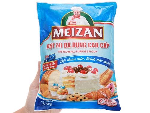 các loại bột mì làm vỏ bánh trung thu