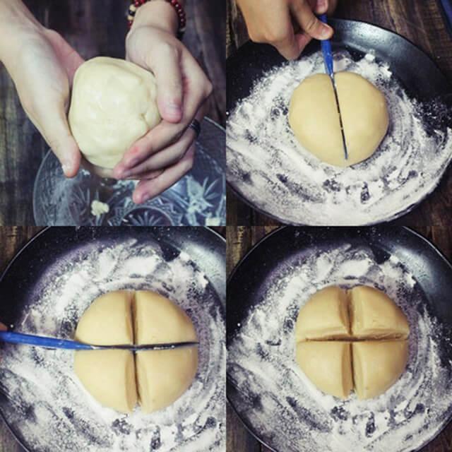 làm bánh trung thu con heo tại nhà