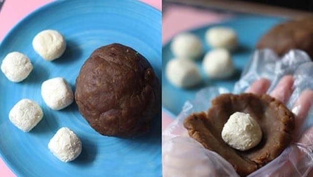 làm bánh trung thu chocolate