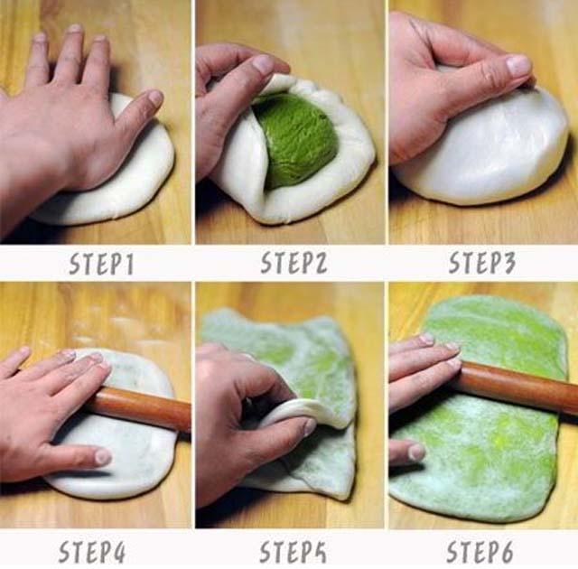 cách làm bánh trung thu ngàn lớp