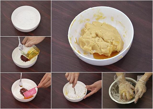 cách làm bánh trung thu nhân trứng muối