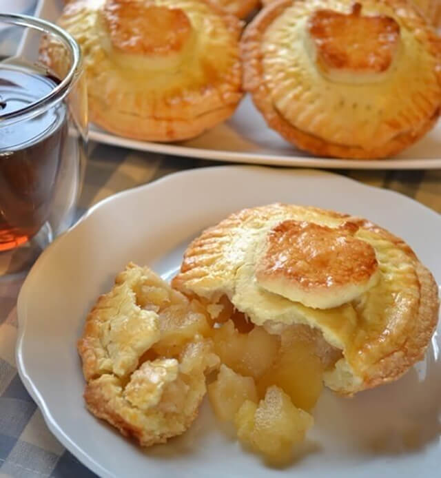 Cách làm bánh ngàn lớp nhân táo